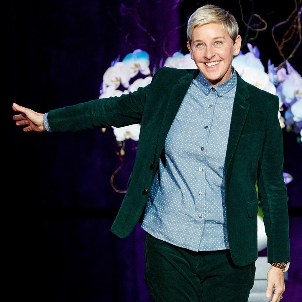 Ellen DeGeneres respondió al rumor de que no permite el contacto visual