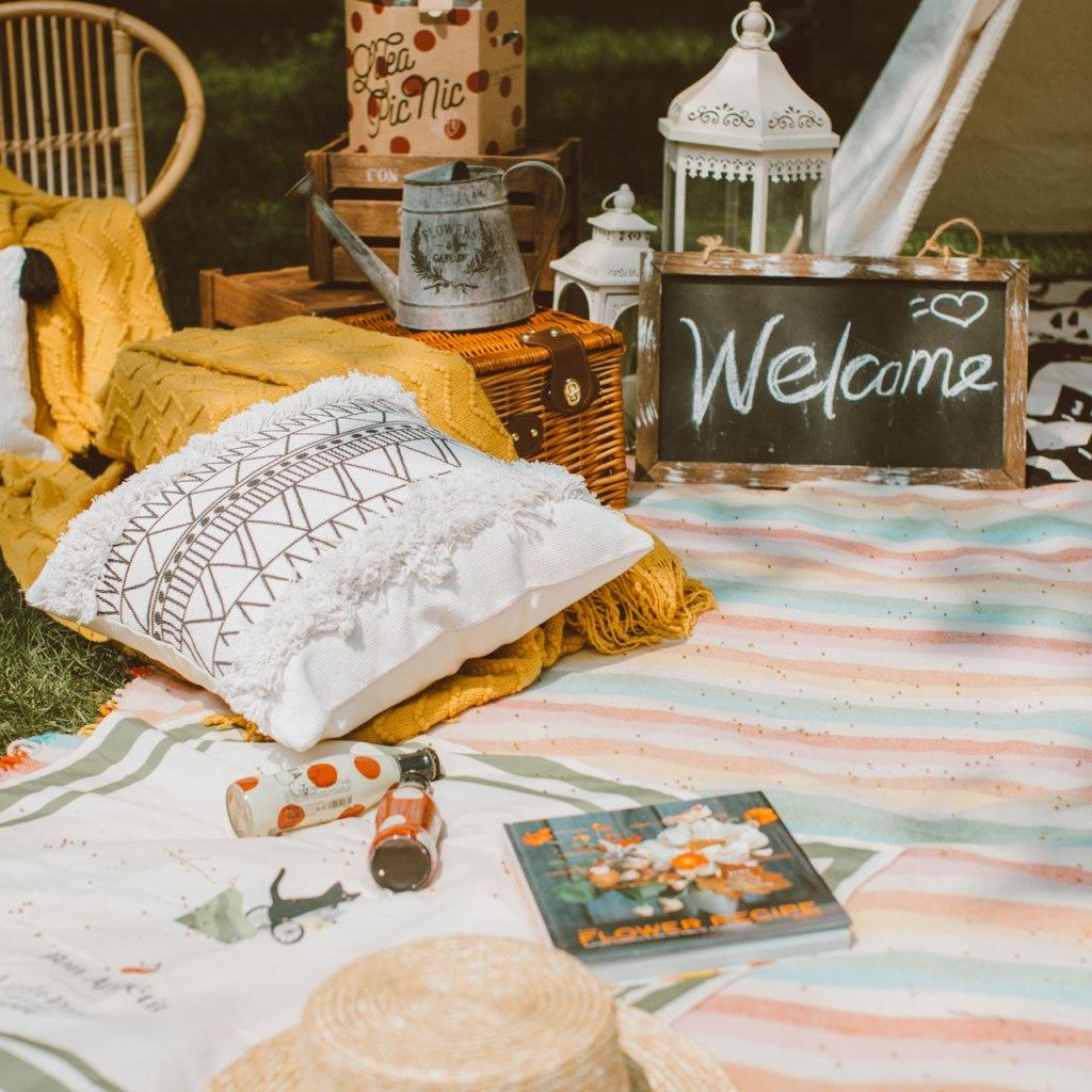 Así puedes hacer un picnic en casa