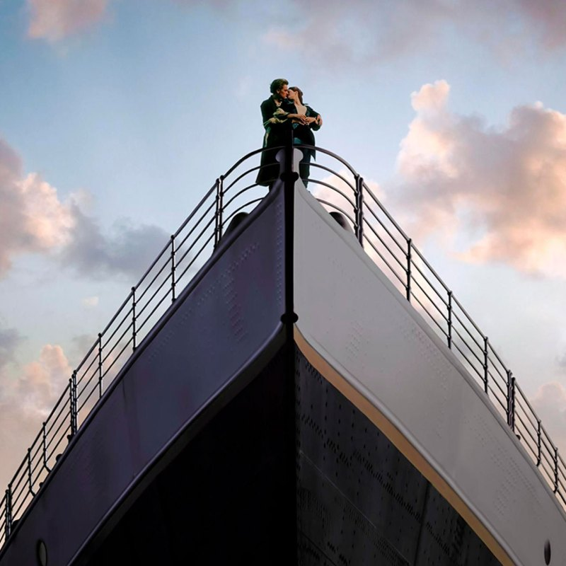 Este final alternativo de 'Titanic' se ha vuelto viral por lo malo que es