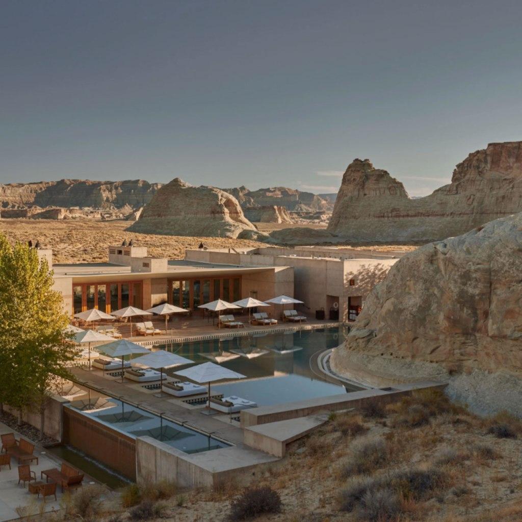 El resort en el desierto en el  que todas las celebs vacacionan