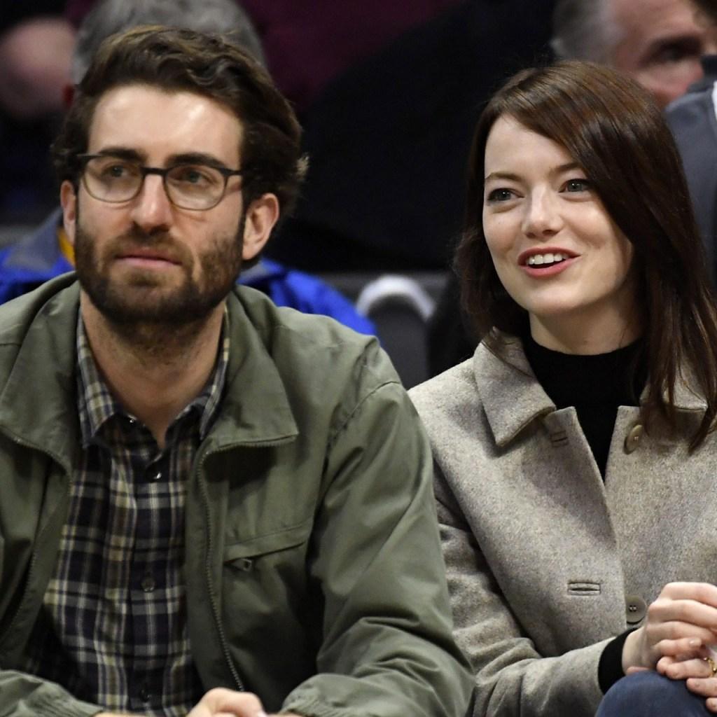 El Internet piensa que Emma Stone se casó en secreto con  Dave McCary en cuarentena