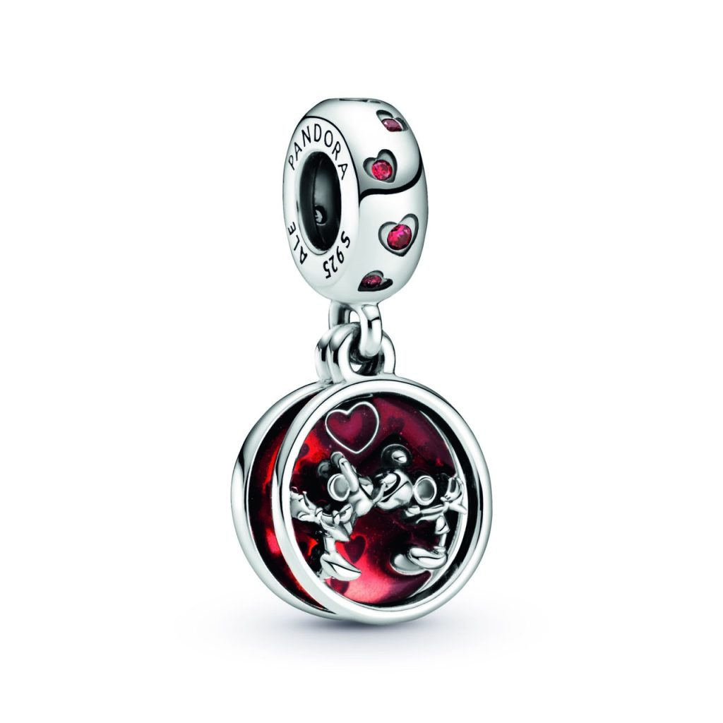 Charm love & kisses Micky and Minnie Mouse