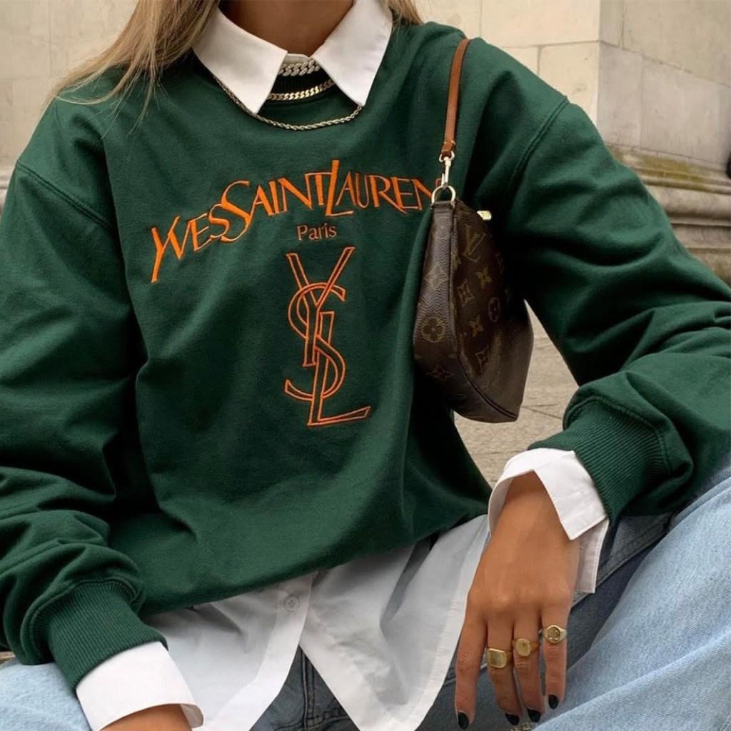 Sweatshirt: El básico de siempre está on trend y va con todo