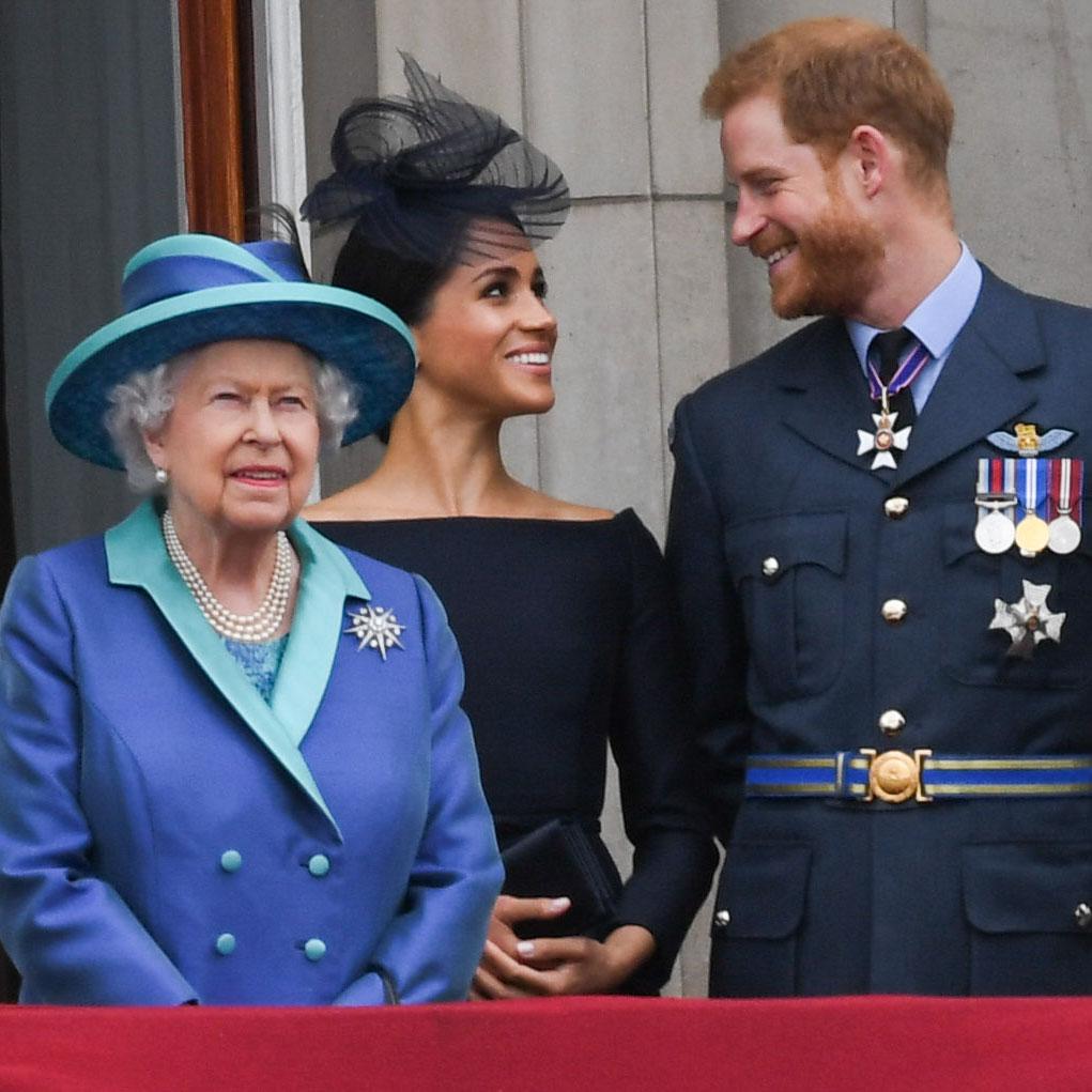La reina Isabel saldrá al aire horas antes de la entrevista del príncipe Harry y Meghan Markle