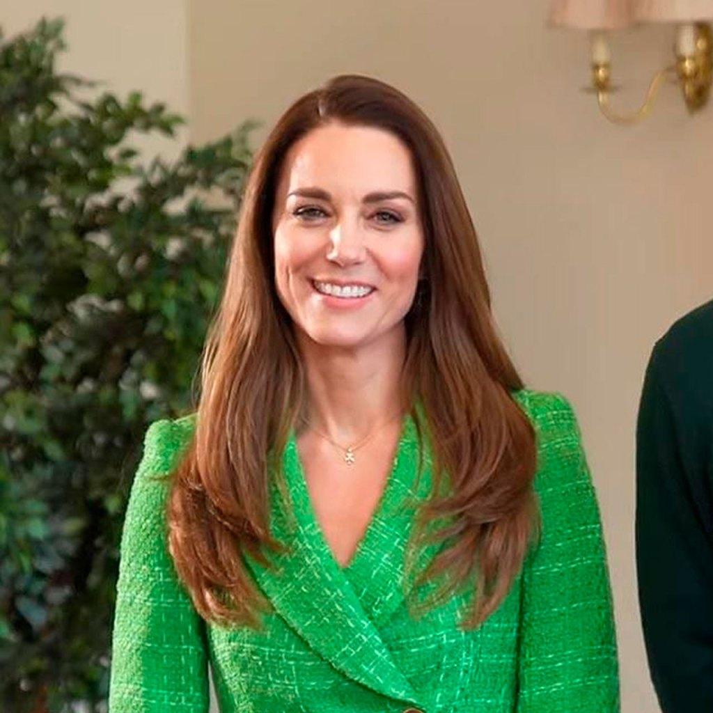 Kate Middleton se une a la tendencia del verde con este blazer de Zara