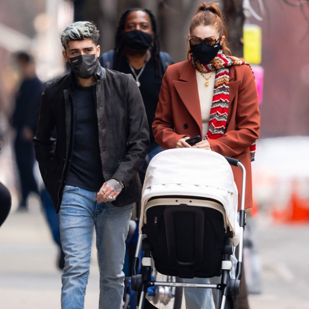 SPOTTED: Gigi Hadid y Zayn Malik salieron por primera vez con Khai