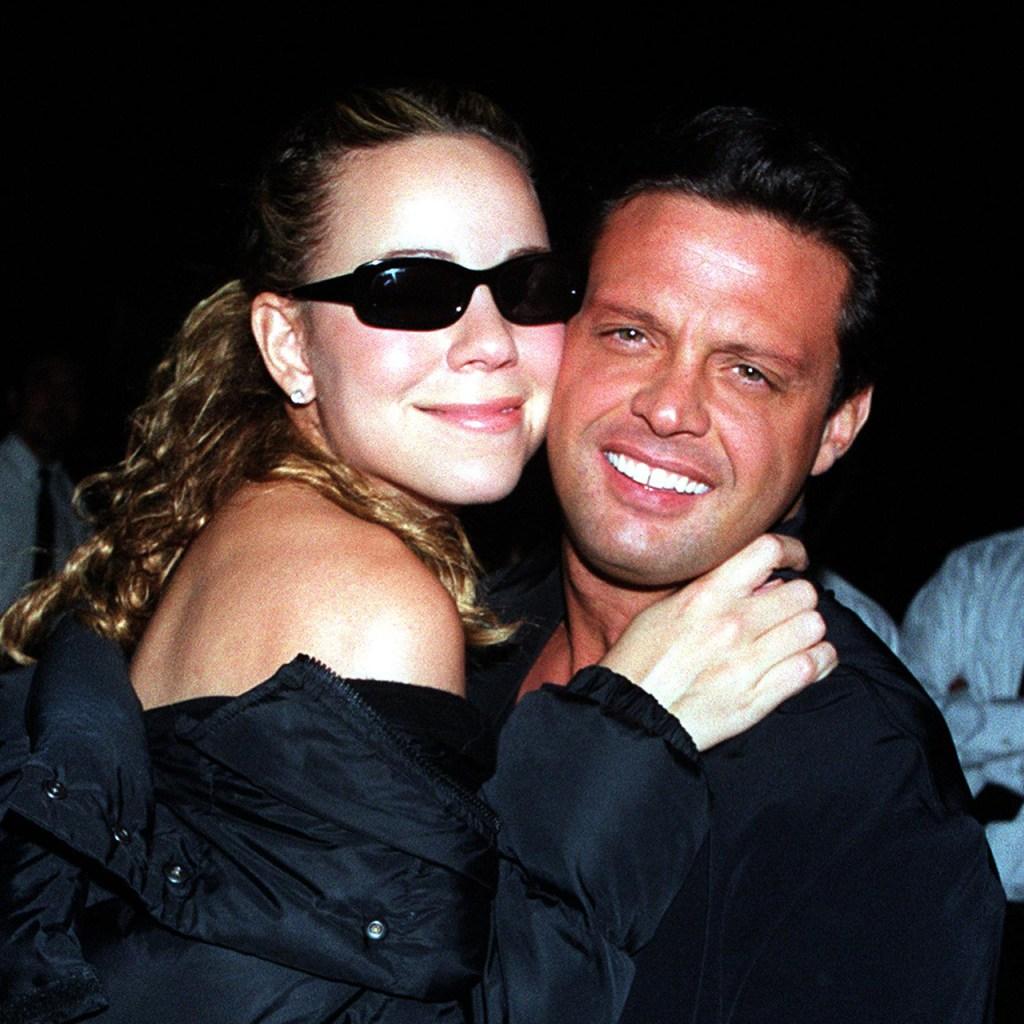 Así fue la historia de amor entre Luis Miguel y Mariah Carey