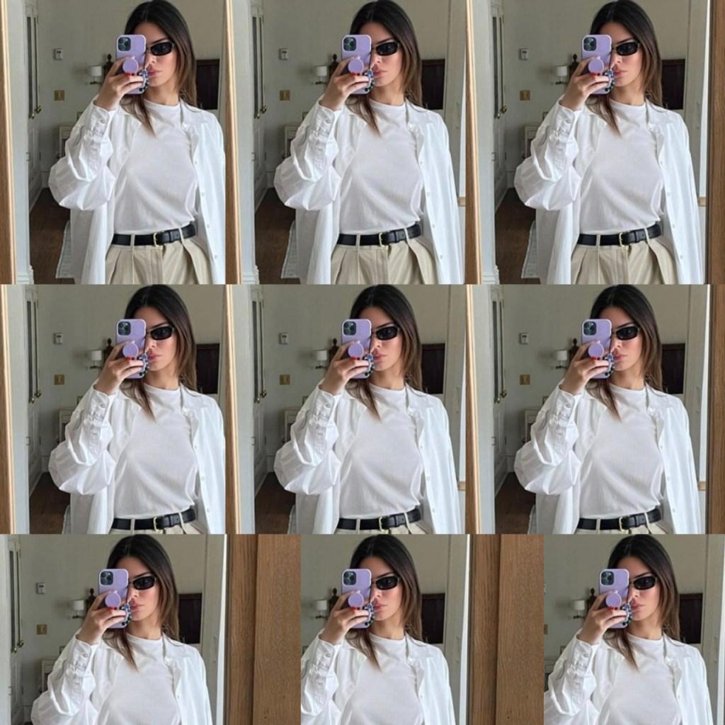 El look que amamos de  Kendall Jenner pero en piezas low cost (qué paz)