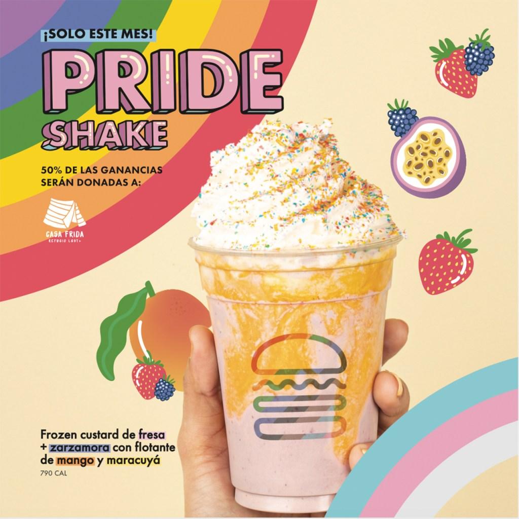 Pride Shake, la malteada con causa que llegará a todos los Shake Shacks