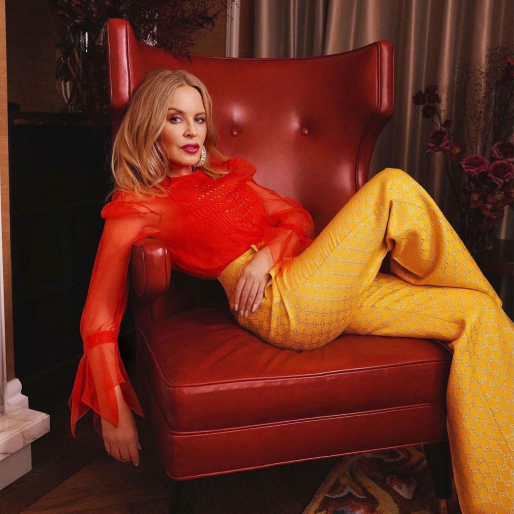 """¿Perfección? Kylie Minogue hizo un cover de """"Marry the Night"""", de Lady Gaga"""
