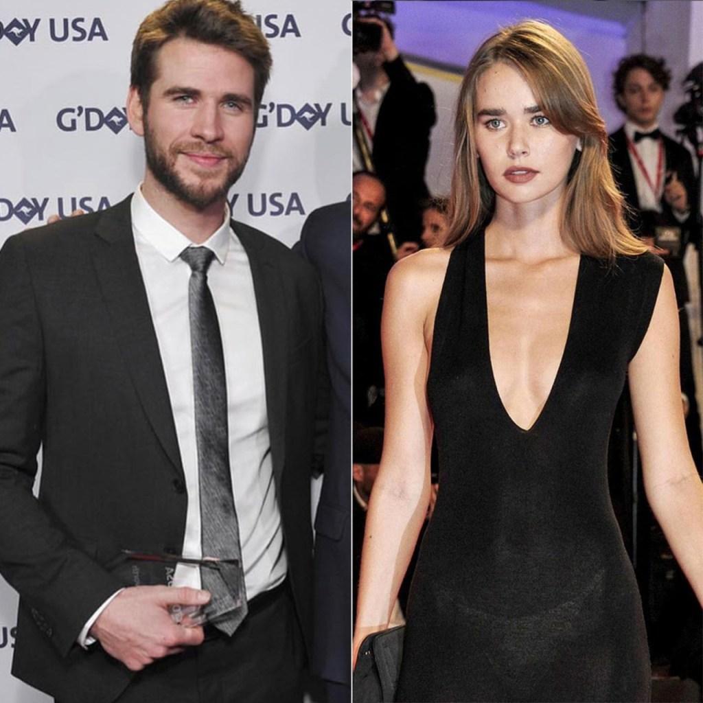 Liam Hemsworth y Gabriella Brooks son #Instaofficial