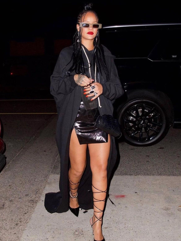 lo mejor del street style de Rihanna