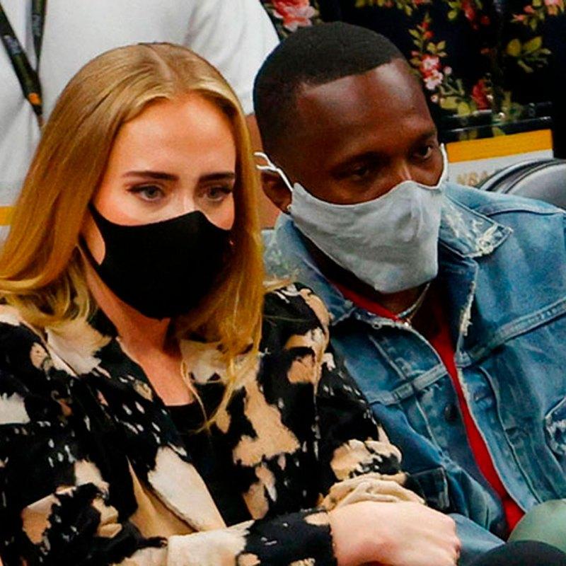 ¿Adele tuvo una date con su nuevo novio en la final de la NBA?