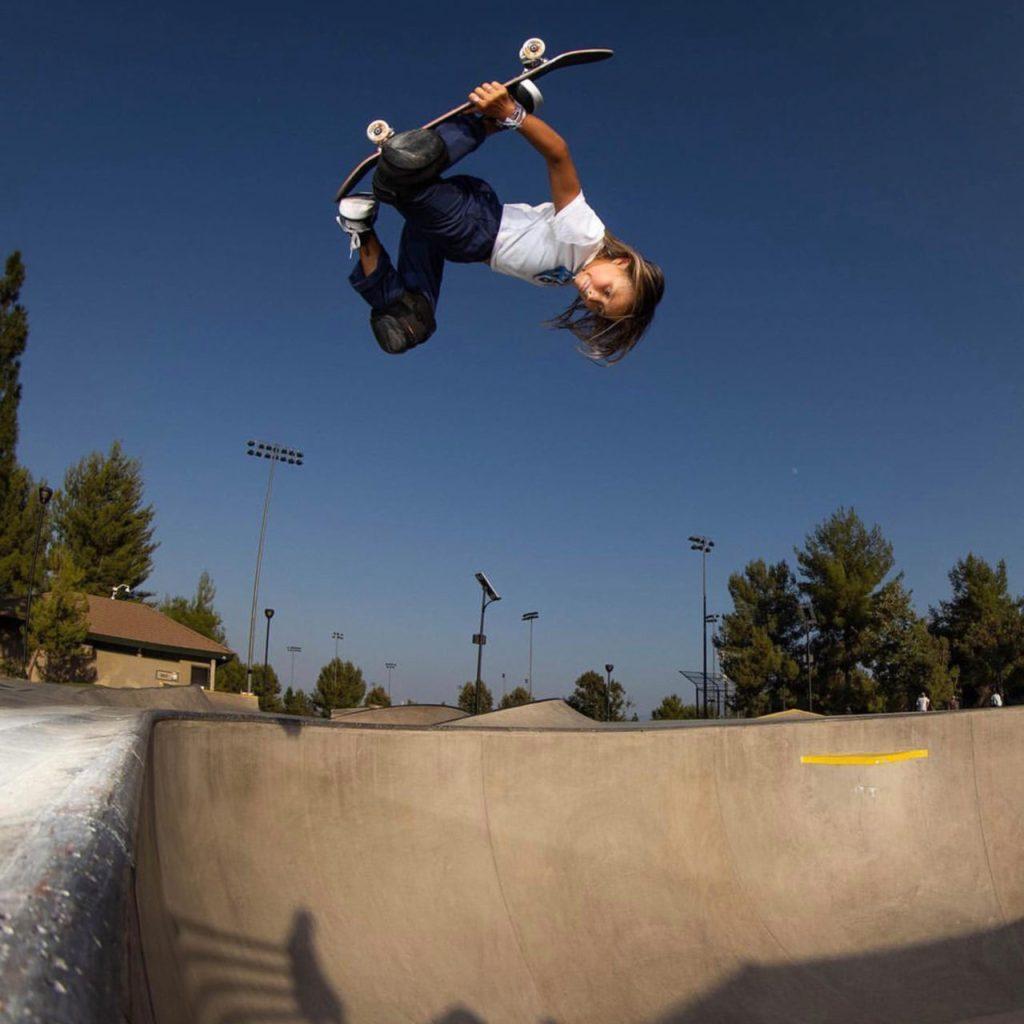 Sky Brown, la skateboarder de 12 años que será atleta olímpica