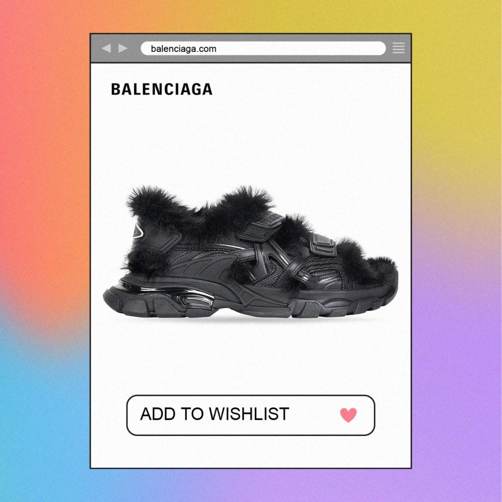 Las nuevas sandalias de Balenciaga tienen un factor sorpresa