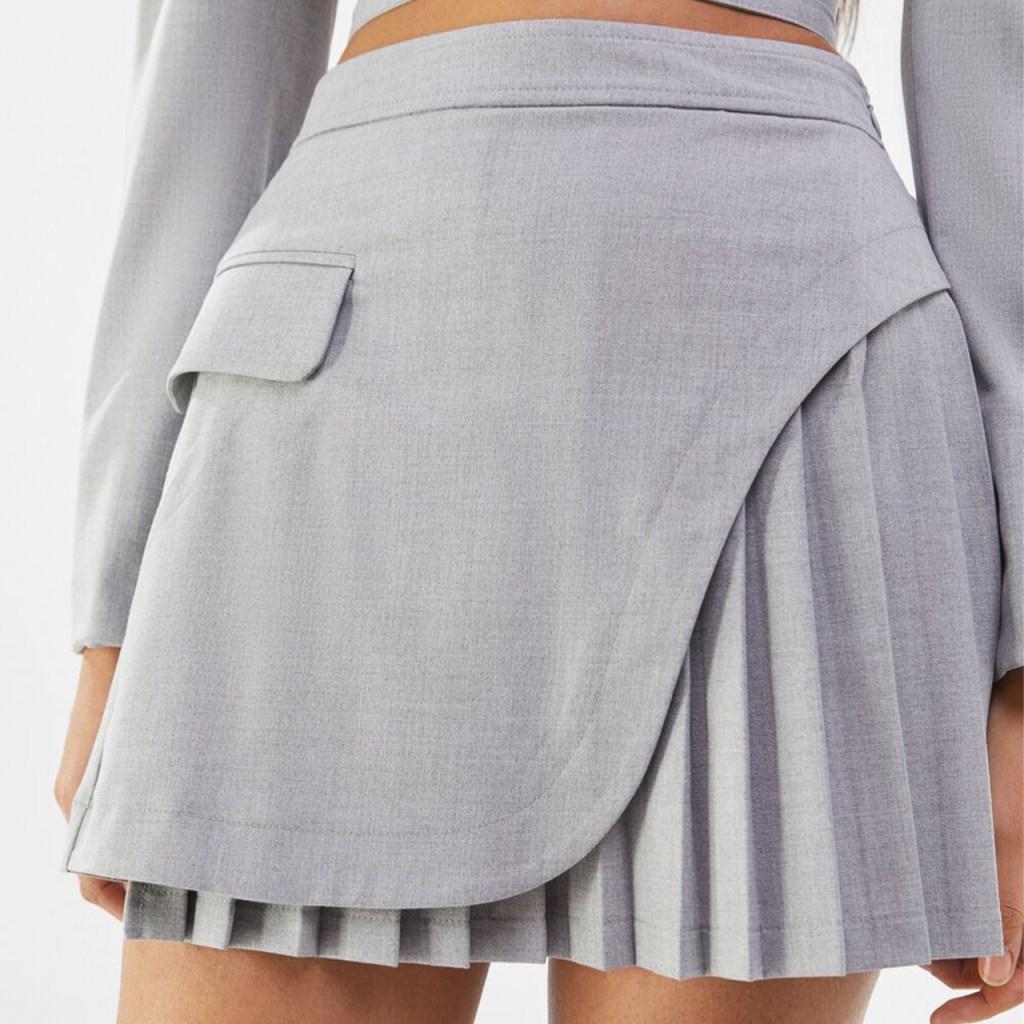 faldas plisadas tendencia