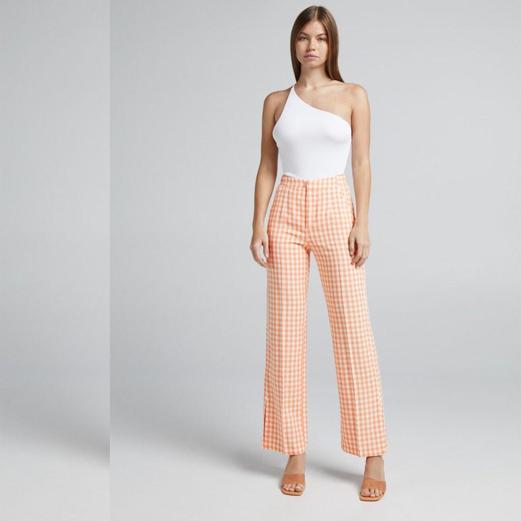 pantalones de cuadros verano 2021