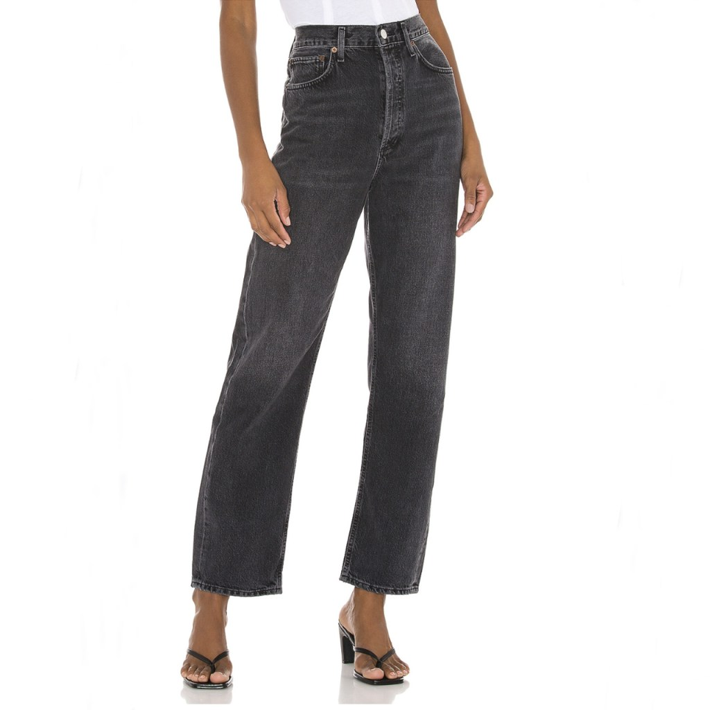 cropped pants negros