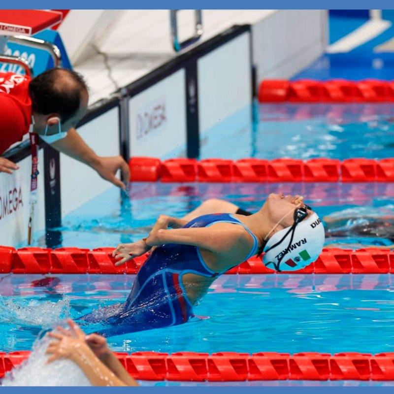 Fabiola Ramírez, la nadadora mexicana que ya ganó medalla en Tokio
