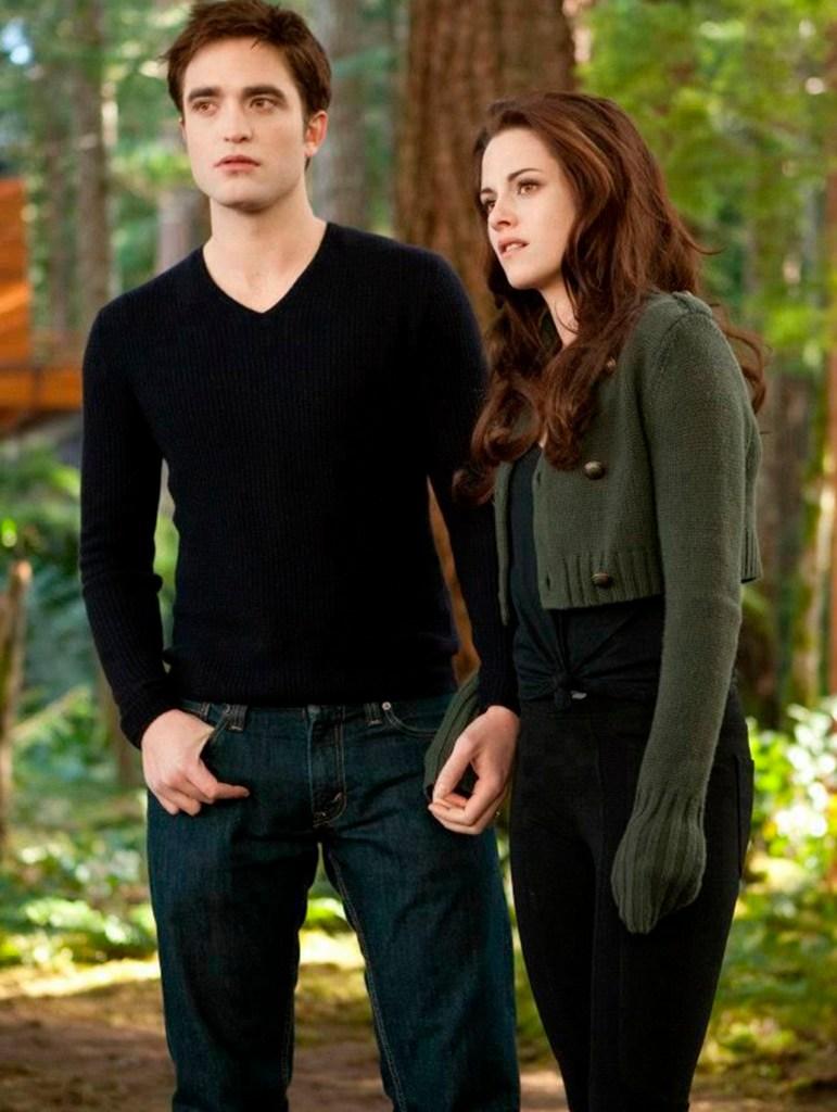 Bella y Edward en Twilight