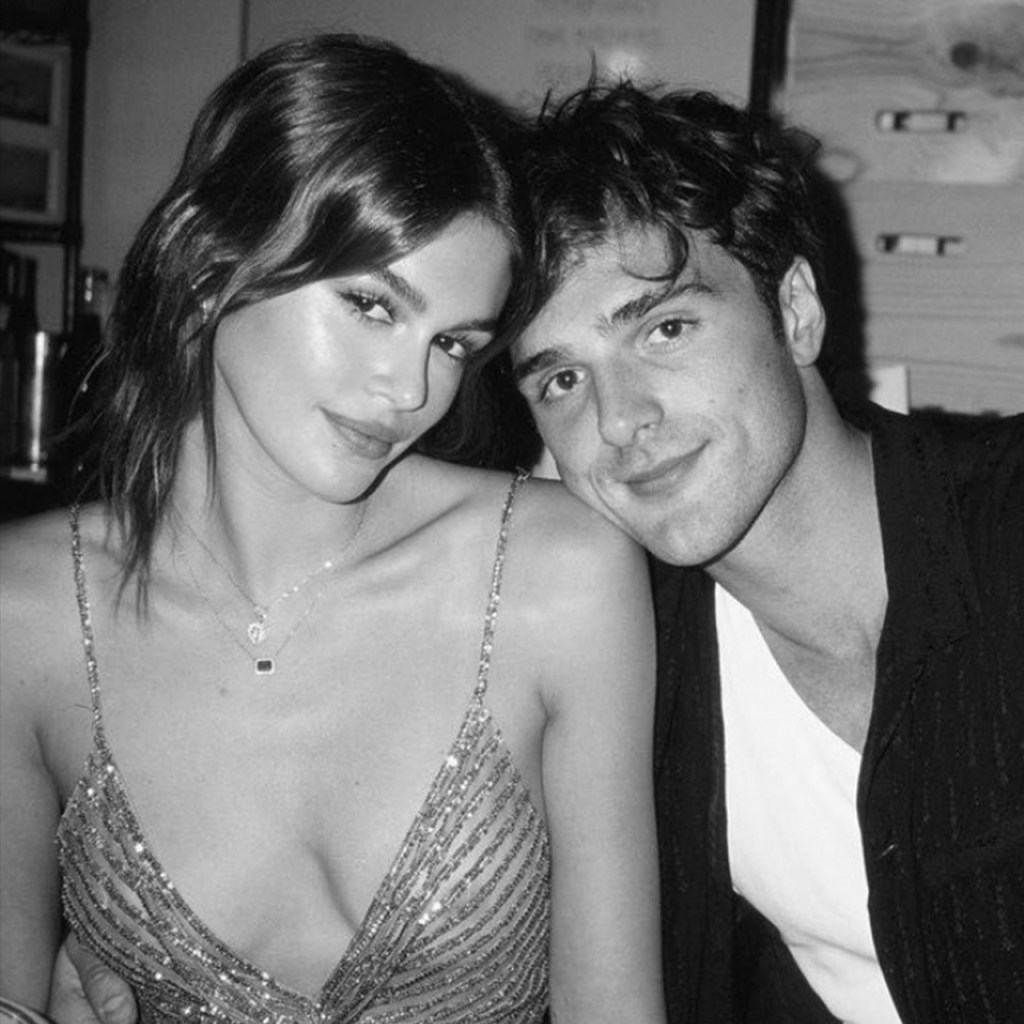 Kaia Gerber celebró su cumpleaños con Jacob Elordi, amigos y un naked dress