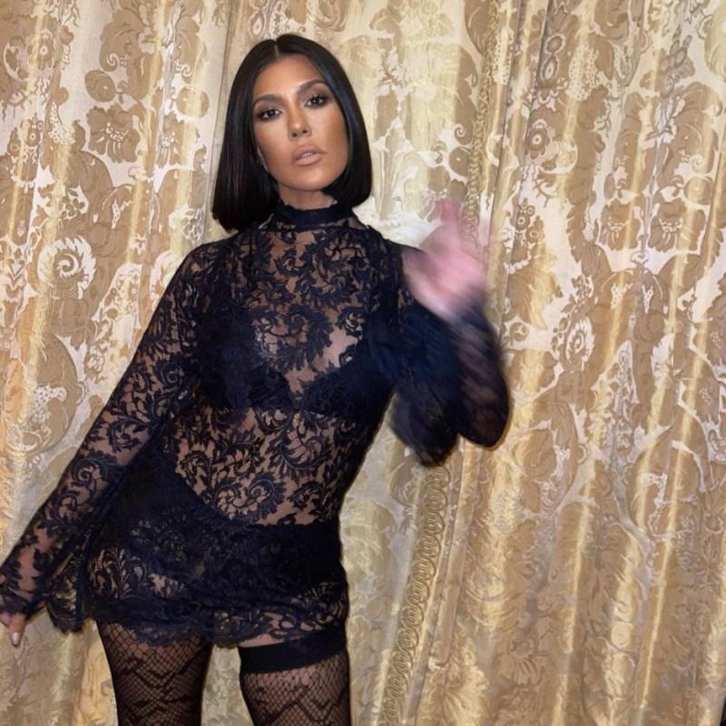 Kourtney Kardashian cambió su estilo por su novio Travis y no es la única