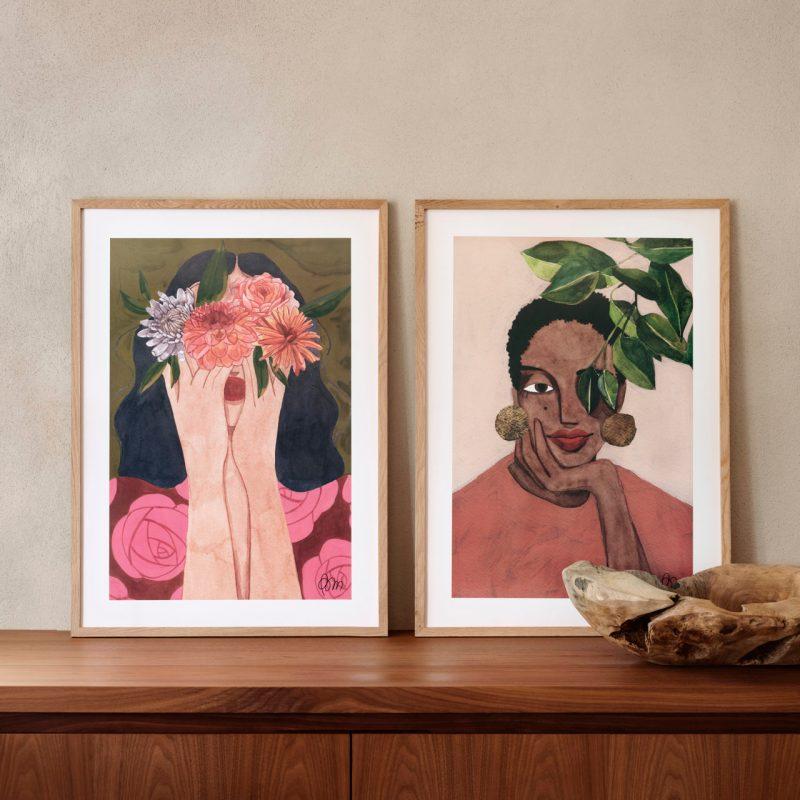 For the love of art: tres mujeres artistas y las piezas más cool para tu casa