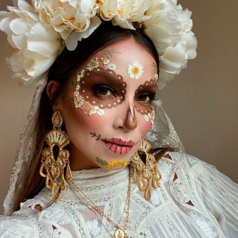 Las ideas que TikTok nos dio para nuestro maquillaje de Día de Muertos