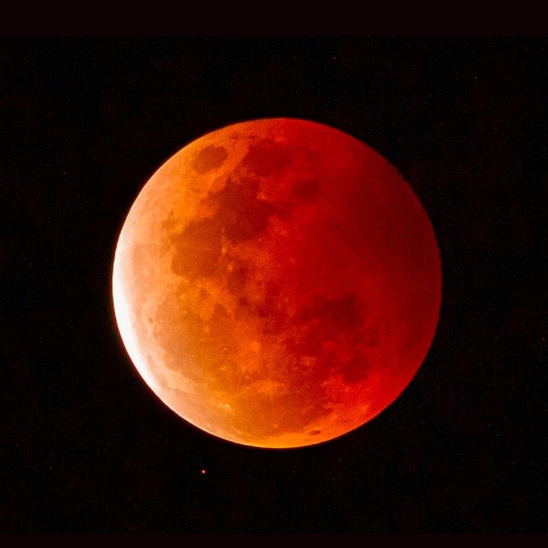 La luna de sangre de octubre. Así la puedes ver en México y así te afectará