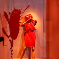 "Art Meets Fashion: Splatter In Some Style With Lanvin ""Splashing Window"" Displays!"
