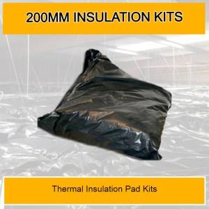 200mm Thermal Insulation Pad Kits