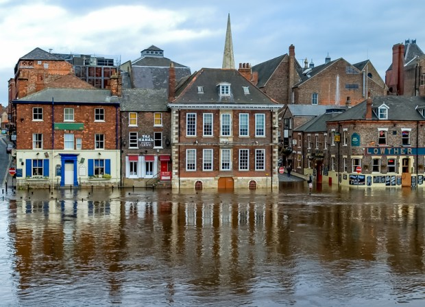 York Floods 2012
