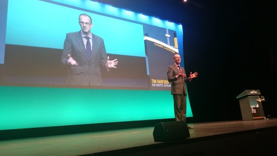 Tim Harford at Airmic Conference 2015