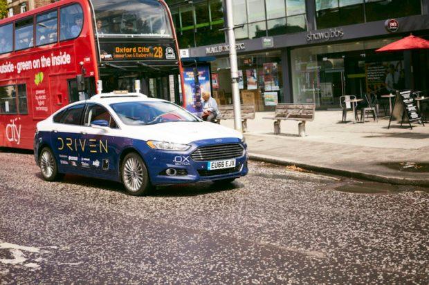 driven driverless uk car project