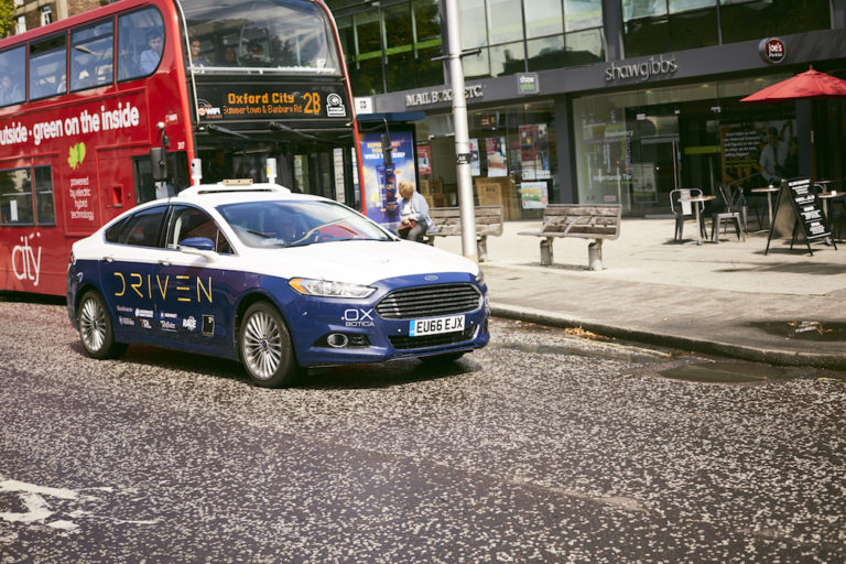 driven driverless uk car project