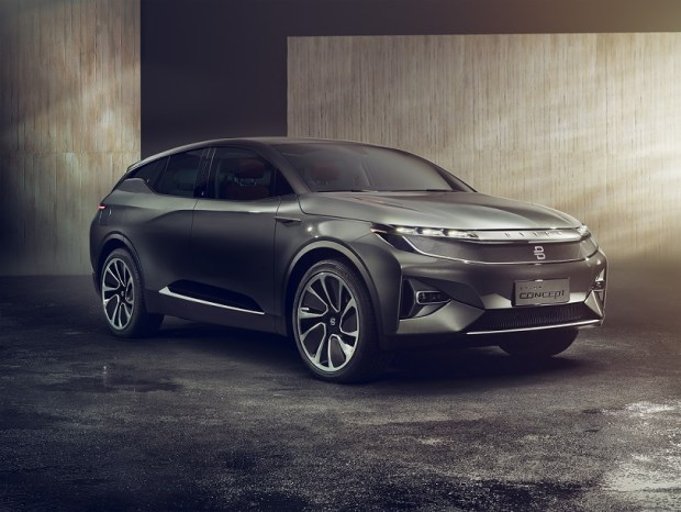 byton electric suv press pic