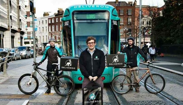 deliveroo insurance launched