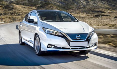 nissan leaf electric car 2019 safety rating