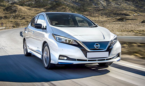 nissan leaf electric car 2019 safety rating