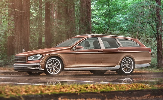VW Golf station wagon concept custom car insurance