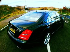 mercedes S class who provides replacement vehicles after accident