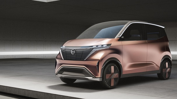 nissan IMk city car concept photos