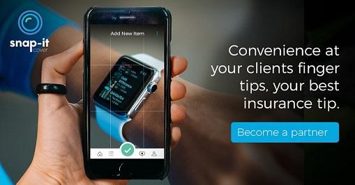 snap it insurance broker white label gadget app