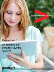 Generation D: An emerging and important investor segment