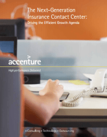 The Next Generation Insurance Contact Center: Driving the efficient growth agenda