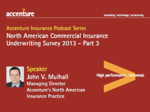 Accenture Insurance Podcast Series: North American Commercial Insurance Underwriting Survey 2013 Part 3