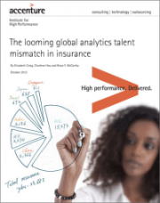 The looming global analytics talent mismatch in insurance