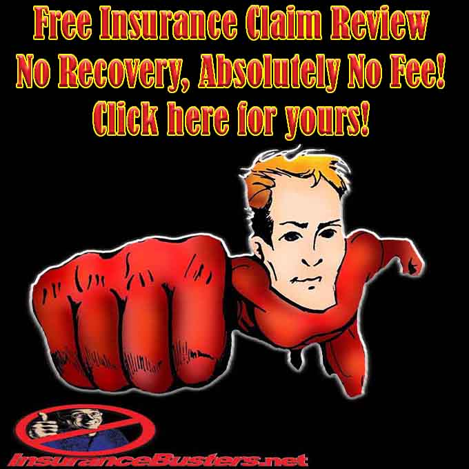 InsuranceBusters.net Free Claim Review