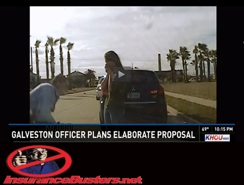 InsuranceBusters.net Galveston Police Department wIbn Logo