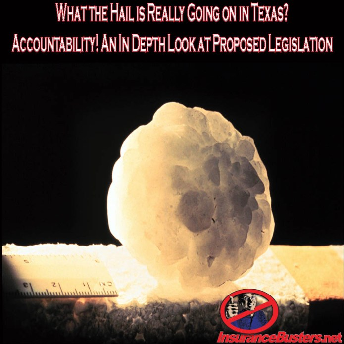 InsuranceBusters.net What the Hail is Really Going on in Texas